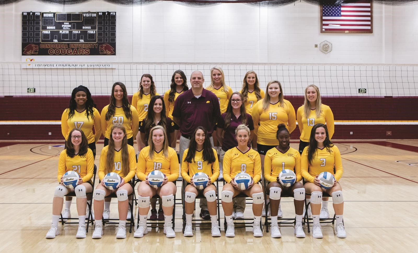2017 Women S Volleyball Roster Concordia University Chicago Athletics