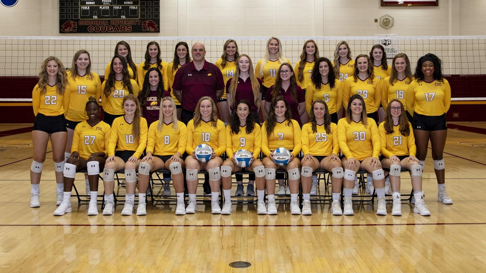 2018 Women S Volleyball Roster Concordia University Chicago Athletics